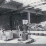 Productiehal jaren 70