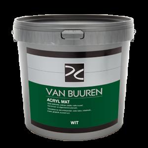 Van Buuren Acryl Mat