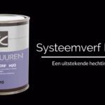 Van Buuren Systeemverf H2O
