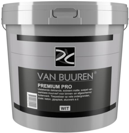 10 Liter grijs Premium Pro OK2