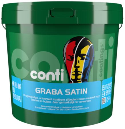 10 Liter groen Graba Satin (Nieuw)
